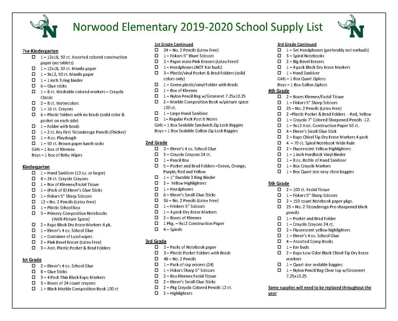 Norwood Elementary / Homepage