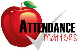 image, apple with check mark, attendance matters