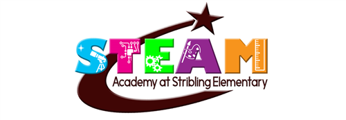 STEAM Academy at Stribling Logo