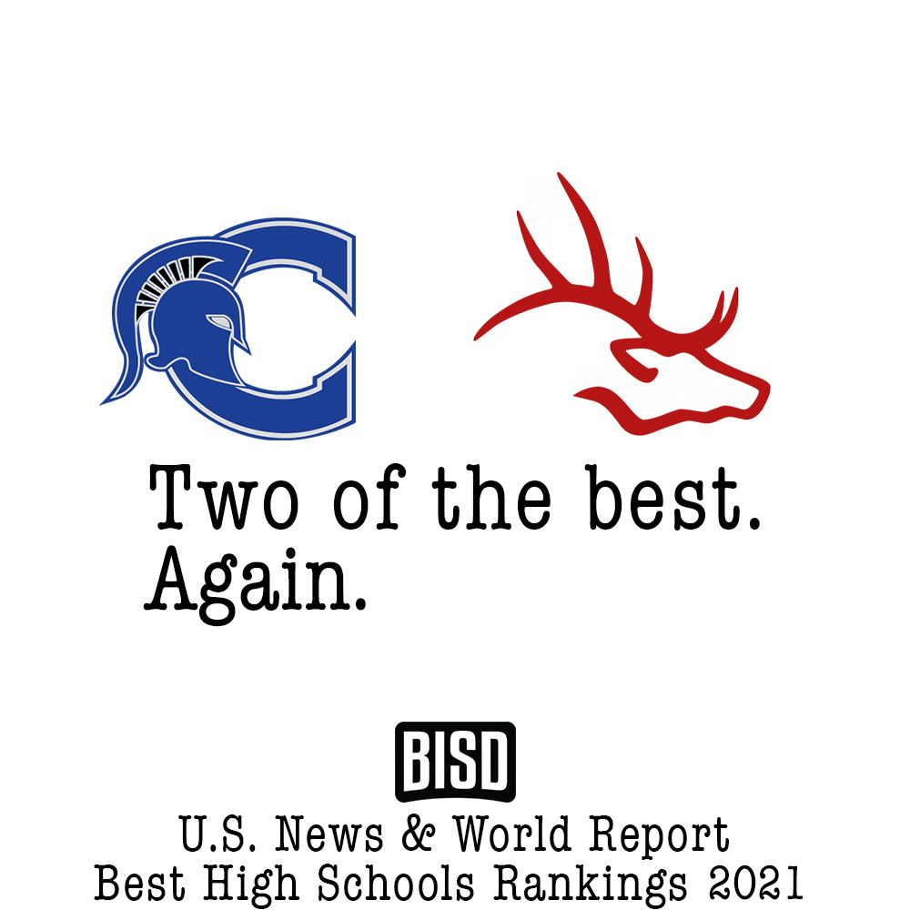 BISD High Schools Among U.S. News & World Report's Best High Schools 2021