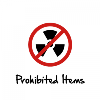 BISD Stadium Prohibited Items