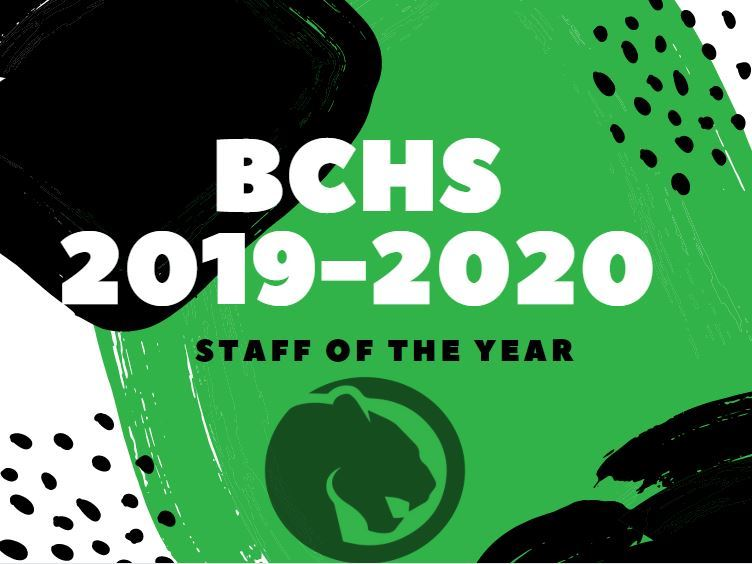 Staff of the Year 2019-2020