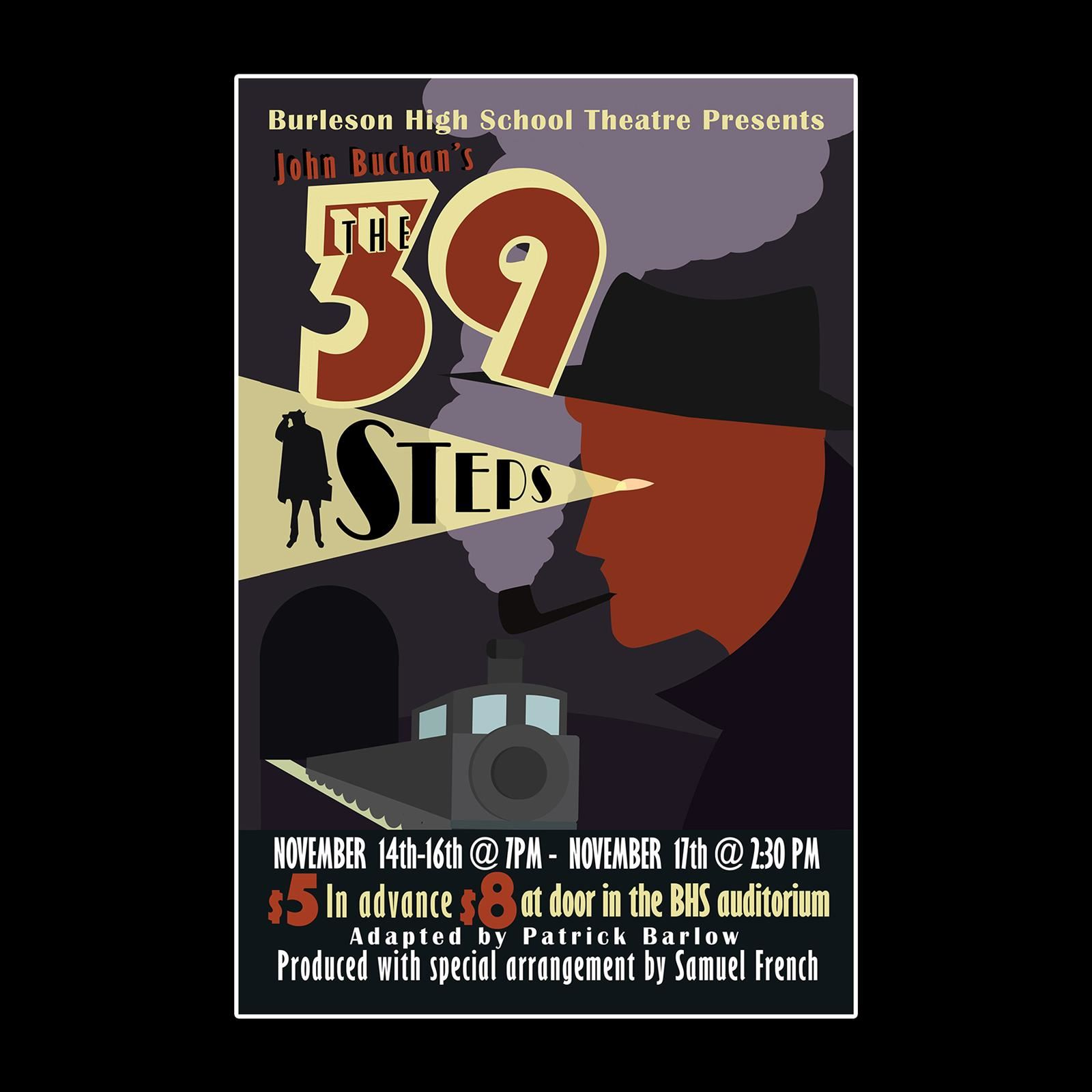 The 39 Steps Promotional Poster