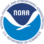 National Oceanic Atmospheric Administration U S Department of Commerce NOAA blue circular logo