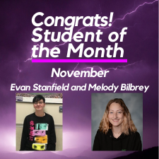 Students of the Month: November