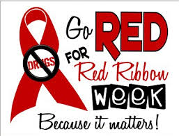 Go red for red ribbon week