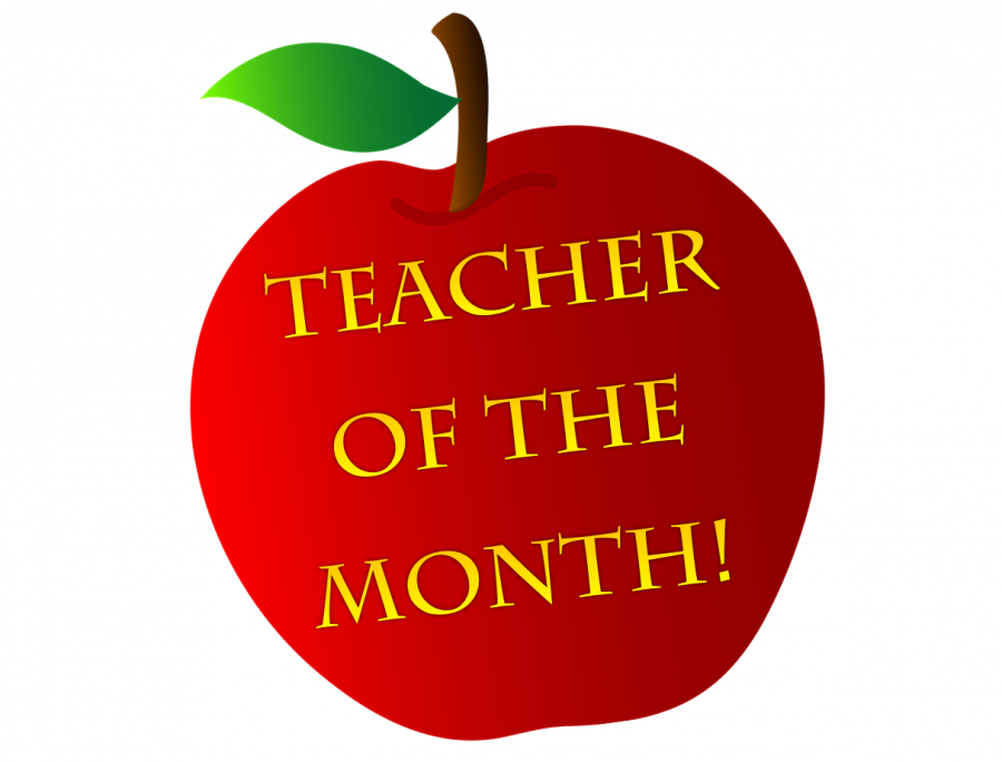 Apple teacher of the month