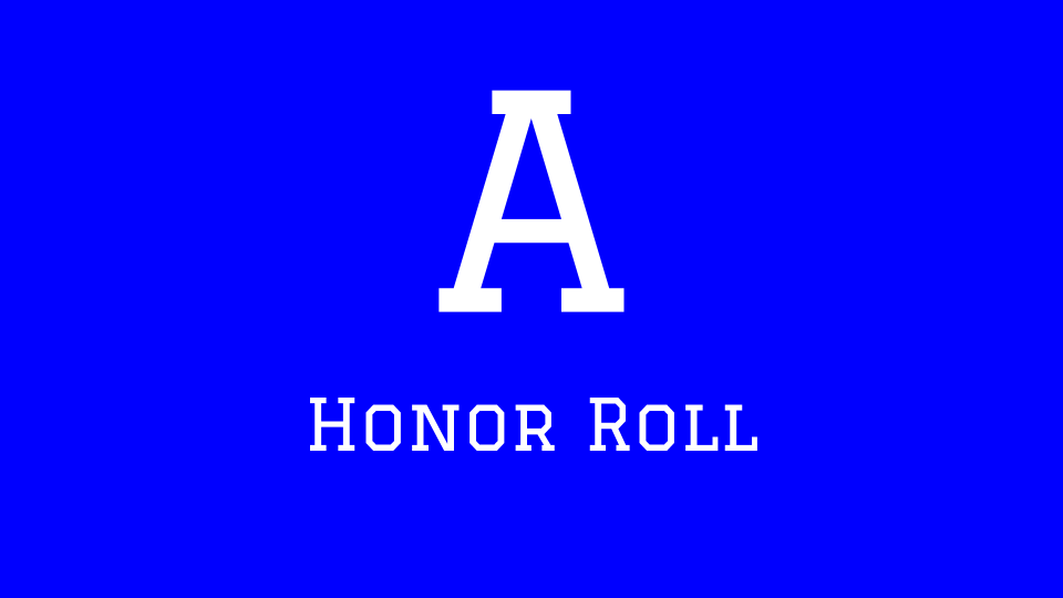 A Honor Roll image click link to see list