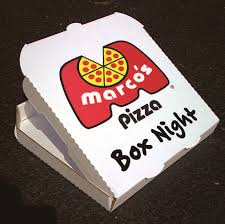 Marco's Pizza Box Fundraiser Night image