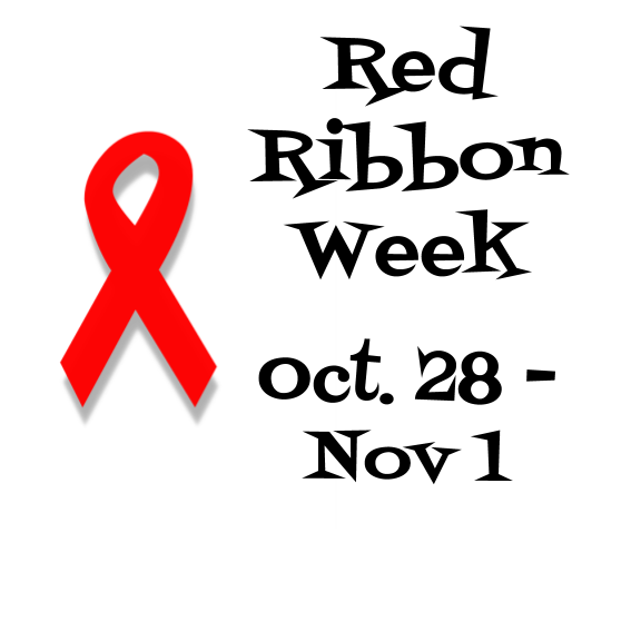 Red Ribbon Week Dress up Days - Oct. 28 - Nov. 1